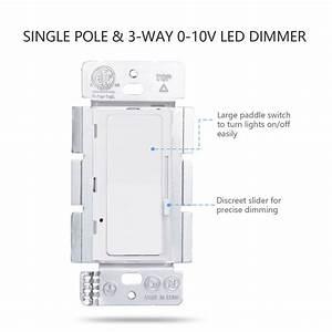 Buy Hooanke 120v Led Dimmer Switch Or Buy 0 10v Dimmer Switch