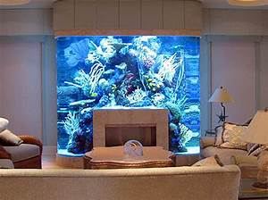 20 Unusual Places For Aquariums In Your Home.