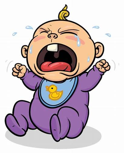 Crying Cartoon Clipart Child