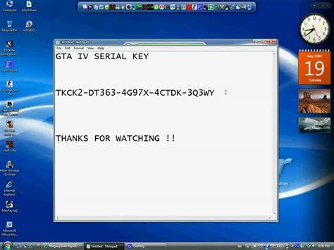 Gta Iv Serial Key For Free