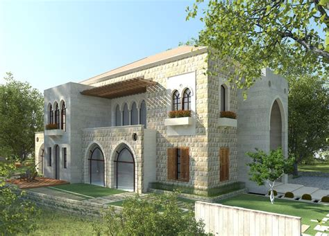 traditional lebanese architecture villa aytat indian house exterior design house