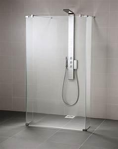 Pose Paroi De Douche : ideal standard pare douche connect verre transparent ~ Dailycaller-alerts.com Idées de Décoration