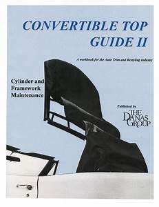 Instruction Manual  Tech Tips  Convertible Top Guide Ii