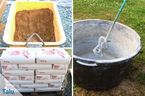 Wie Macht Beton by Wieviel Zement Und Kies Sand Splitt Werden F 252 R 1 M 179 Beton