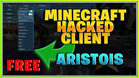 minecraft hacked client hack cheats versions working game existing enable