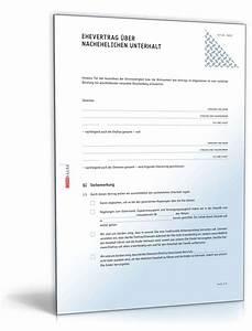 Einverständniserklärung Reise Kind Muster : ehevertrag nachehelicher unterhalt muster zum download ~ Themetempest.com Abrechnung