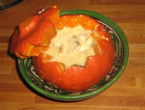 cuisiner le potimarron au four recette potimarron aux chignons crémeux