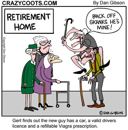 elderly cartoons spydersden