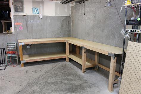 garage work bench diy custom garage workbench renocompare