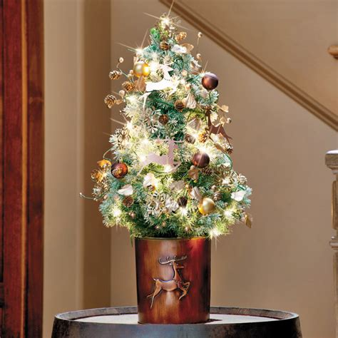 table top christmas tree 29 awesome tabletop tree ideas for small spaces godfather style