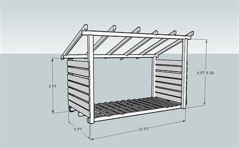 wood drying shed plans   build diy