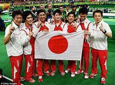 Japan win gold in men's gymnastics team final as Great