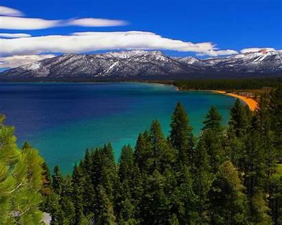 Tahoe Lake Valley Napa Lakes Panoramic California