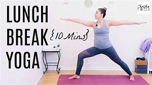 Yoga Pick Me Up | Midday Yoga Routine | 10 Minute Yoga ...