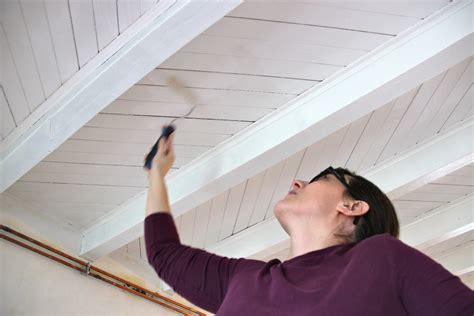 comment faire pour peindre un plafond un ciel immacul 233