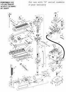 Minn Kota Fortrex Parts Diagram
