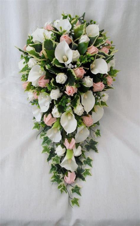 bouquet artificial wedding flowers bouquets brides
