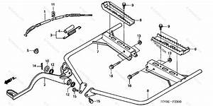 Honda Atv 2003 Oem Parts Diagram For Step  Trx450fe