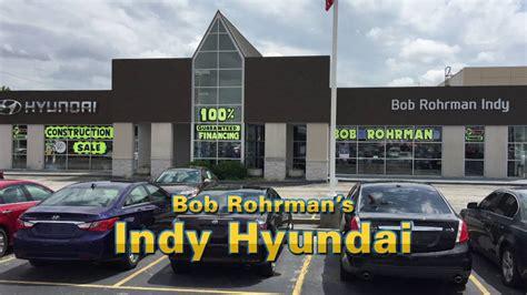 Bob Rohrman Suzuki by Indy Hyundai August 2016