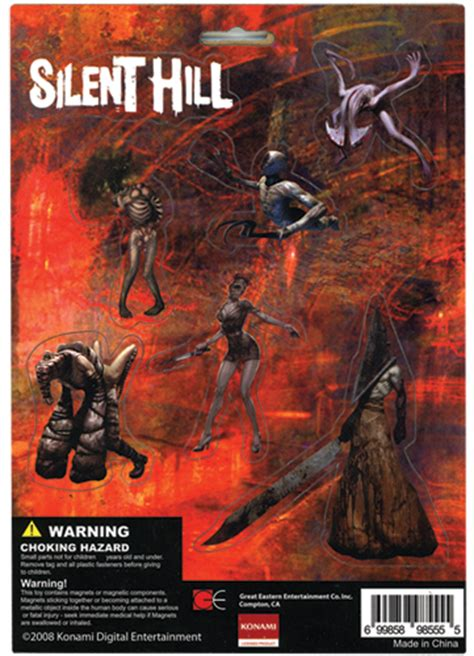 8555 Silent Hill Homecoming Monsters Magnet Set