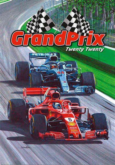 automobile art kitson andrew formula wall calendar grand prix