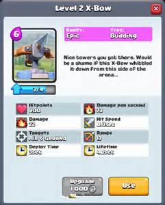 Royale Clash Card Stats