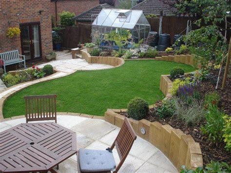 small backyard landscaping ideas  sloped yard