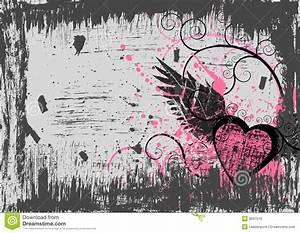 Grunge Heart Background Royalty Free Stock Images - Image ...