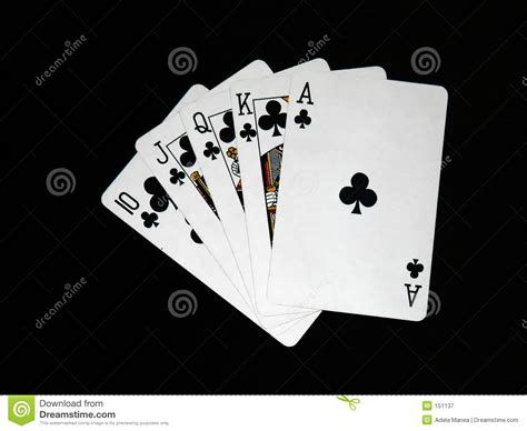 playing cards  royalty  stock photography image