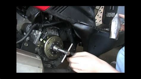 fix replace  gy flywheel cdi stator