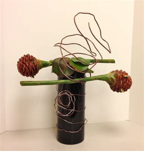 design arrangement modern flower arranging roots to blooms