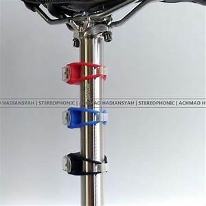 Jual Lampu Sepeda Silikon