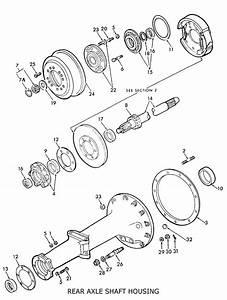 Ford 8n Rear Axle Shaft Housing  U0026 Related