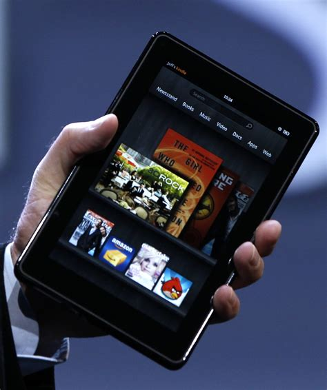 tablet devices    kindle