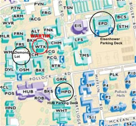 directions to nittany parking deck fred grieger directions psu nittany divers scuba club