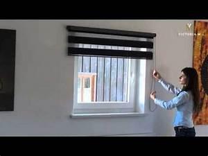 Doppelrollos Für Fenster : doppelrollos duo rollos f r fenster und t ren von victoria m youtube ~ Markanthonyermac.com Haus und Dekorationen