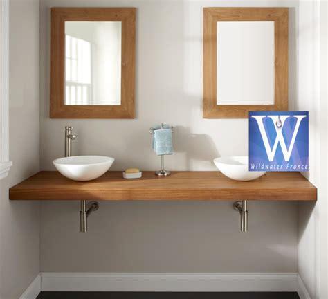 plan de travail cuisine bambou meubles de salle de bain en teck plan de travail