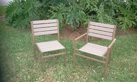 custom patio furniture custom eco wood chairs