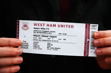 football fans  stage protest  cost   ticket