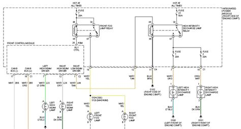 2005 Headlight Wiring Diagram by I Own A 2005 Chrysler 300c With Hid Low Beam Headlights