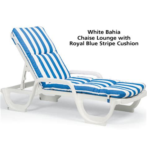 Grosfillex Resin Lounge Chairs by Grosfillex 44031004 Bahia Stackable Chaise Lounge Chair