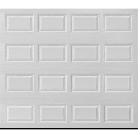 8x7 garage shop pella traditional 108 in x 84 in white single garage