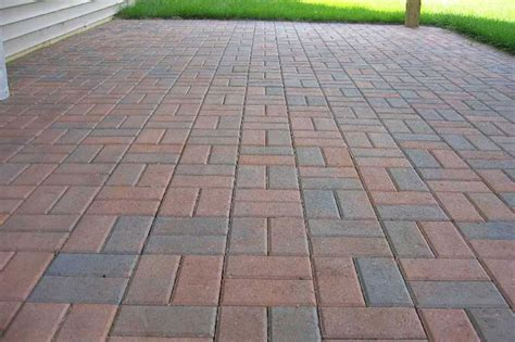 paver stones cost brick paver patio designs