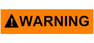 Image result for free clip art warning sign