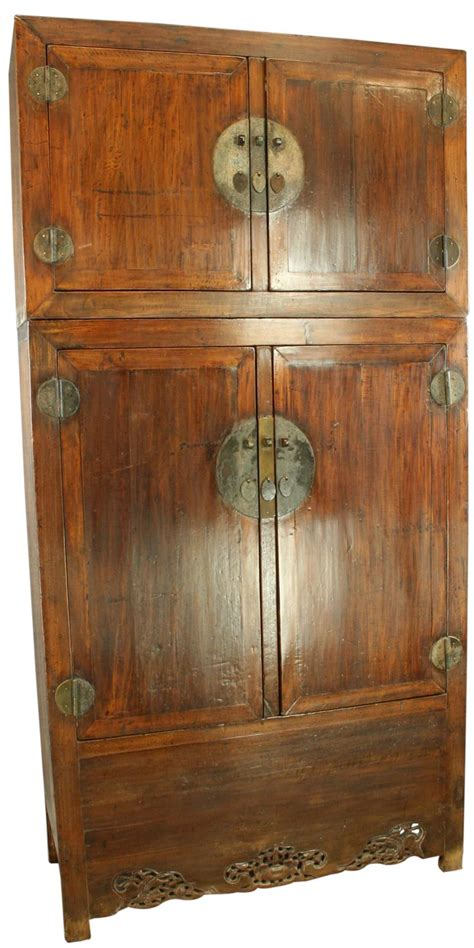 Large Wardrobe Cabinet by Large Antique Armoire Cabinet Wardrobe Dragons Ebay