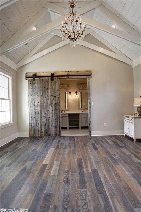 master bedroom ceiling  bathroom barn door princeton