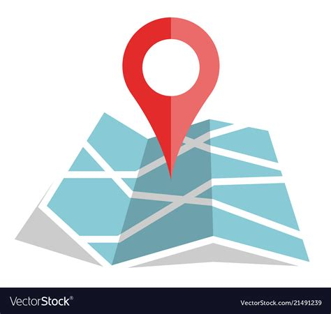 You can use these free icons and png images for your photoshop design, documents, web sites, art projects or google presentations, powerpoint templates. Flat color location icon on paper map Royalty Free Vector