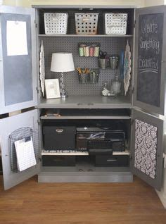 1000+ Ideas About Sewing Cabinet On Pinterest Sewing