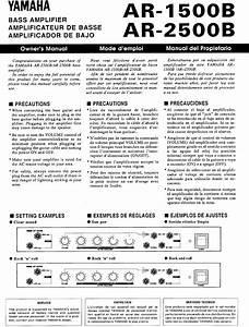 Ar-1500b Manuals
