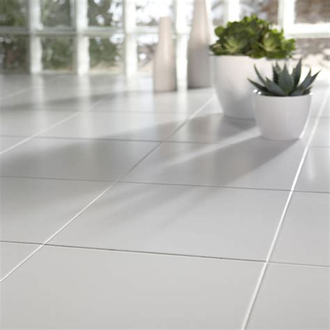 white floor l cheap white ceramic floor tiles 333x333x7mm 5 10 sqm ebay